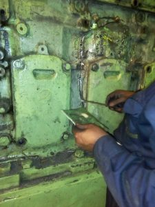 Repair of Engine Block