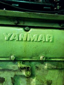 Repair of Yanmar Diesel Engine Block
