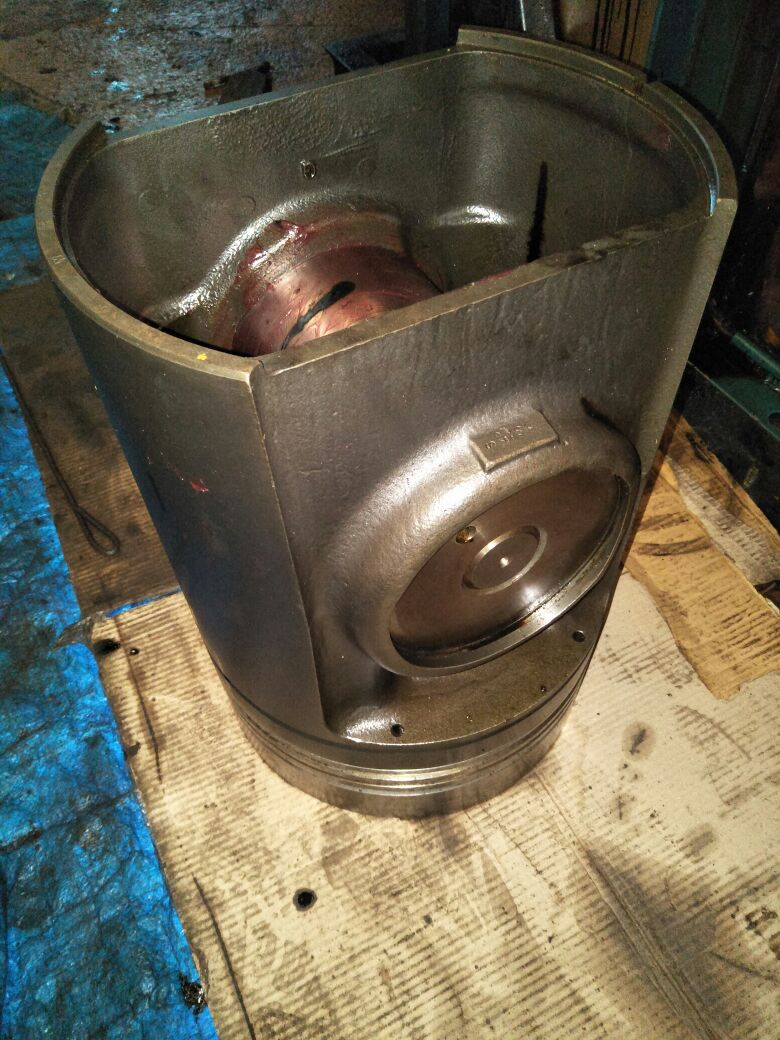 Reconditioning of Piston