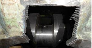 Broken Engine of Wartsila Diesel Engine