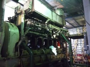 Repair of Wartsila 6R32 Diesel Engine