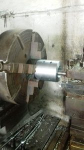 White Metal Bearings Under Machining