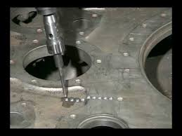 metal Stitchining of Cylinder Head