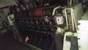 Repair of Diesel Engine while Vessel is Sailing