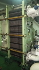 Inspection of Heat Exchanger and Gas Plates
