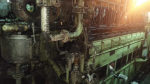 Repair of Diesel Engine on Vessel