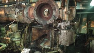 Repair of Engine Spares on Vessel